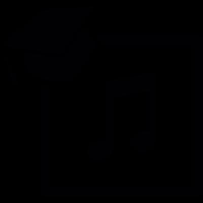 Graduation vector logo