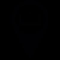 Library Pin vector