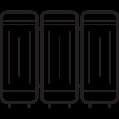 Hospital Curtain vector logo