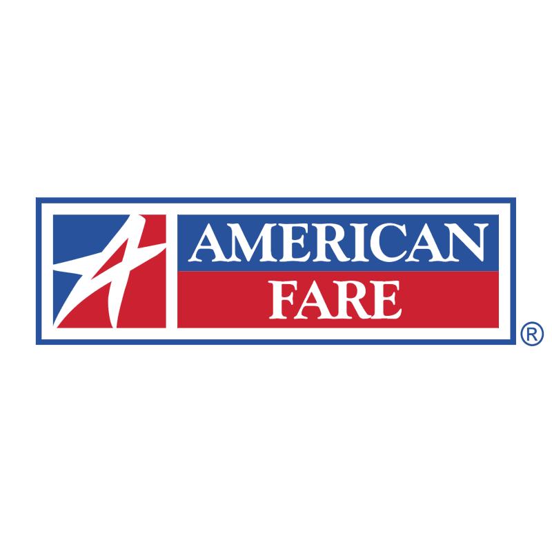 American Fare vector