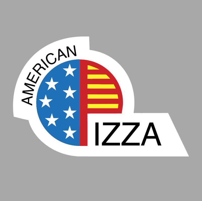 American Pizza vector