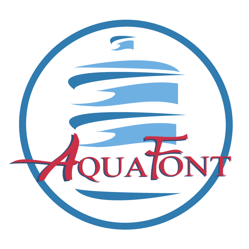 Aquafont vector