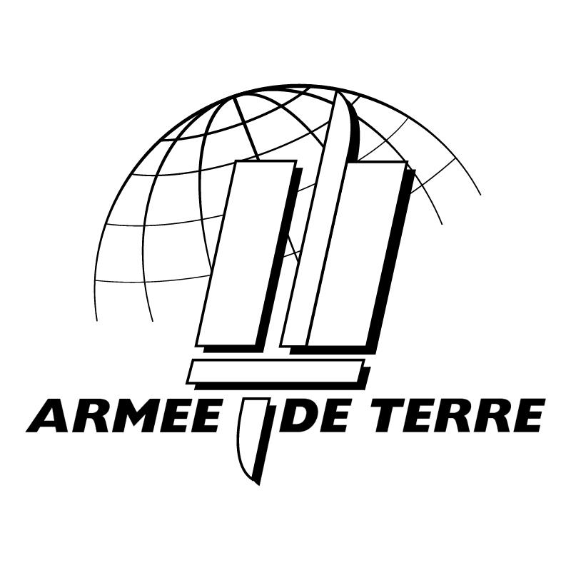 Armee De Terre vector