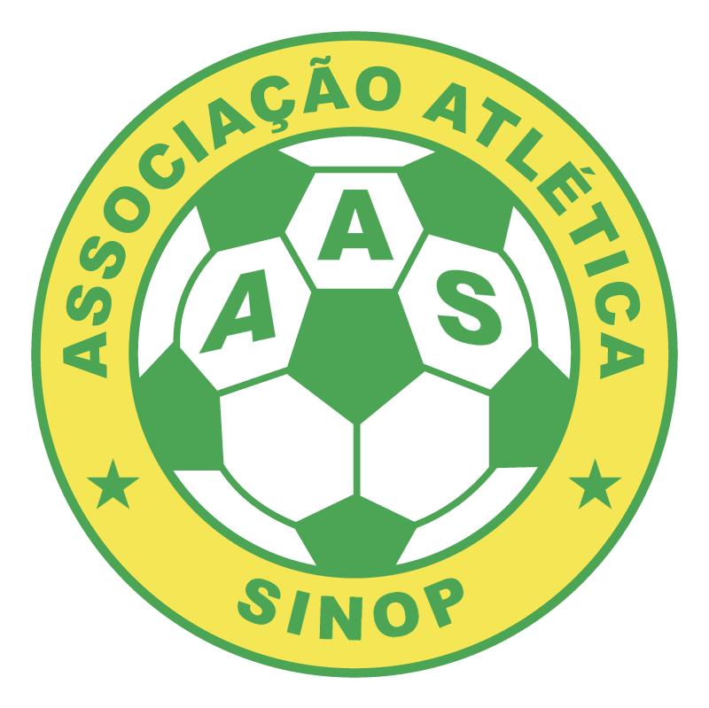 Associacao Atletica Sinop de Sinop MT 77535 vector