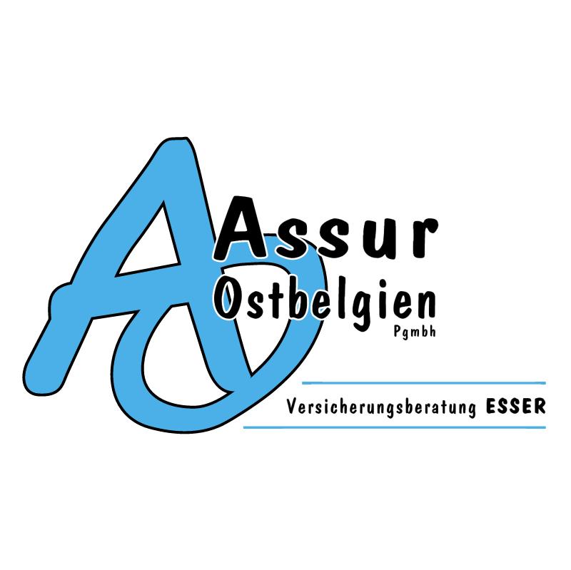 Assur Ostbelgien 42687 vector