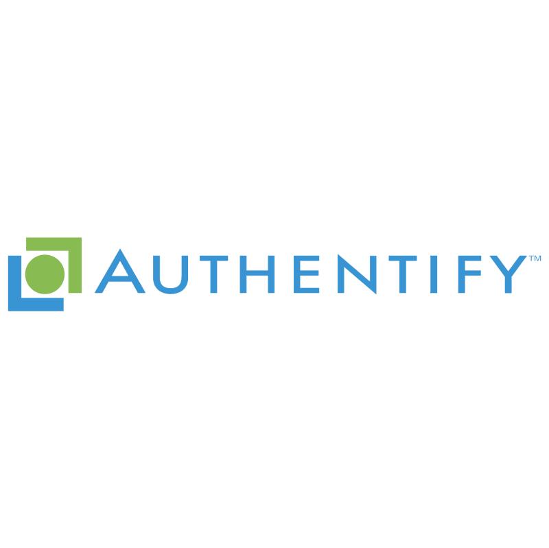 Authentify vector logo