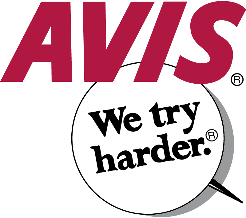 Avis We Try Harder vector