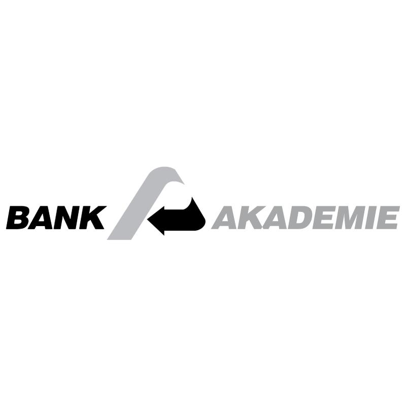Bank Akademie vector
