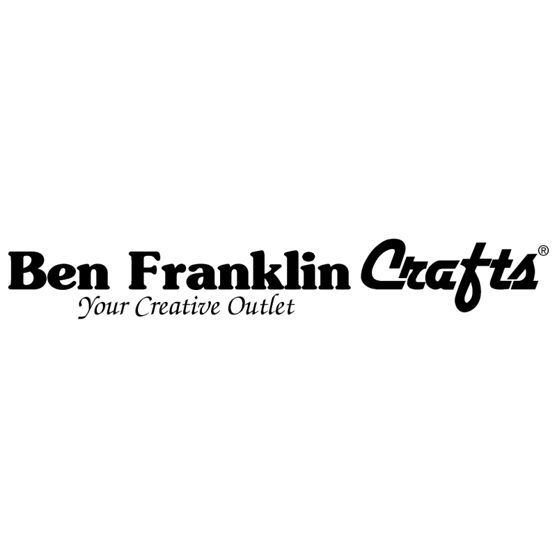 Ben Franklin Crafts vector