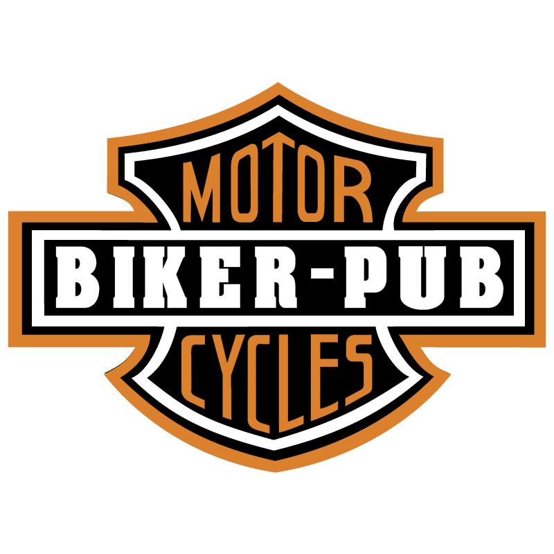 Biker Pub 29757 vector