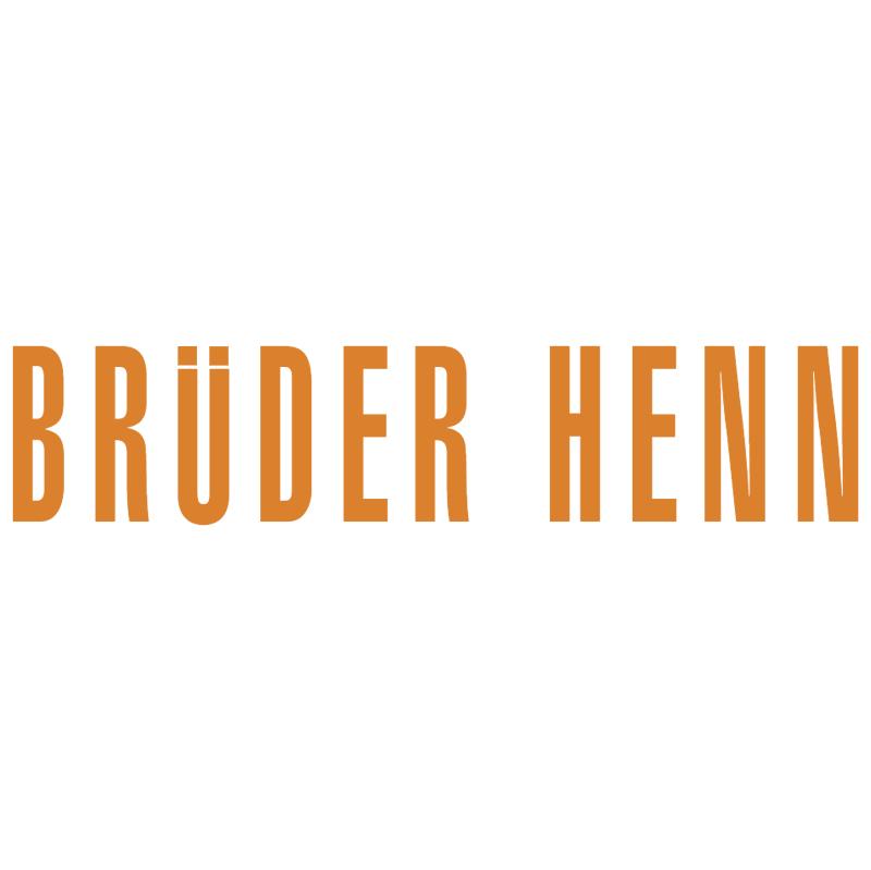 Bruder Henn 6430 vector logo