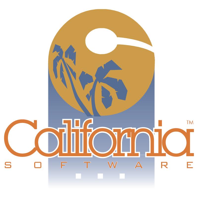 California Software vector