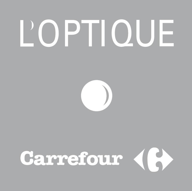 Carrefour L'Optique logo vector