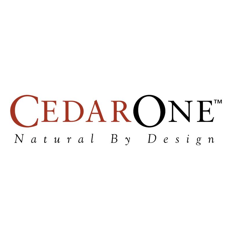 CedarOne vector
