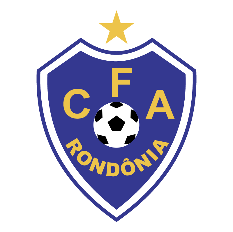 CFA Centro de Futebol da Amazonia de Porto Velho RO vector logo