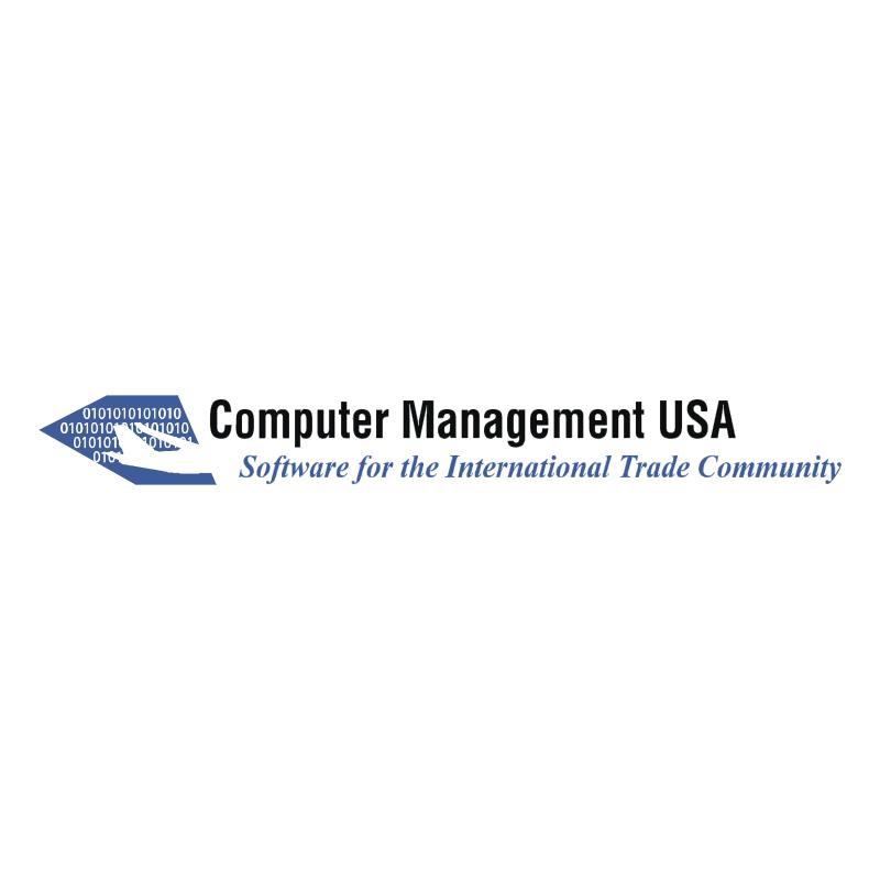 Computer Management USA vector