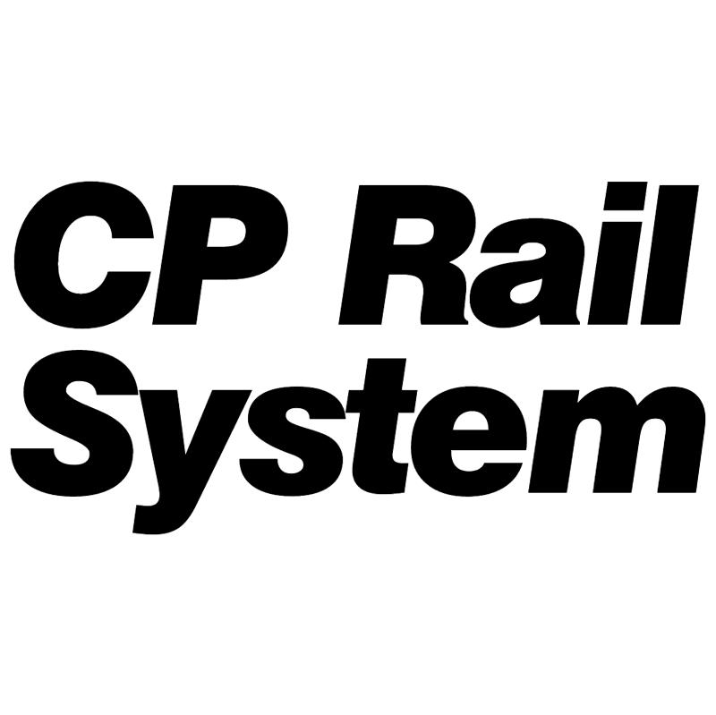 CP Rail System 1049 vector