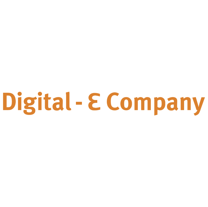 Digital E Company vector