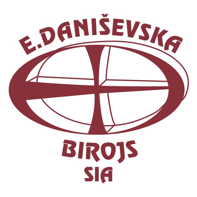 E Danisevska Birojs vector logo