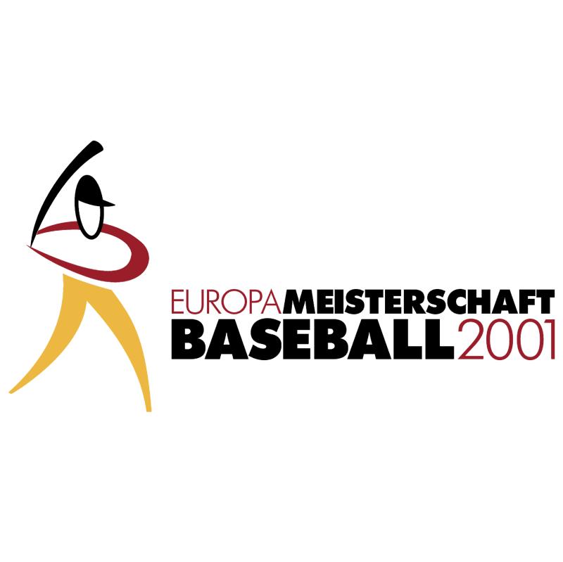 Europa Meisterschaft Baseball vector