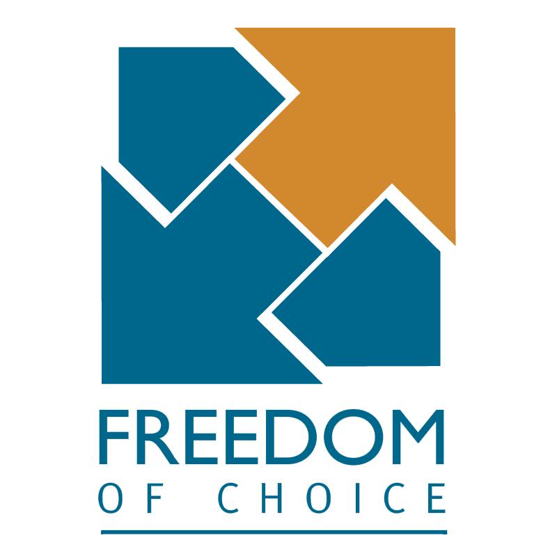 Freedom of Choice vector