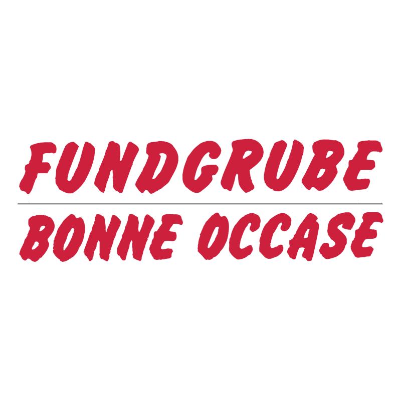 Fundgrube Bonne Occase vector logo