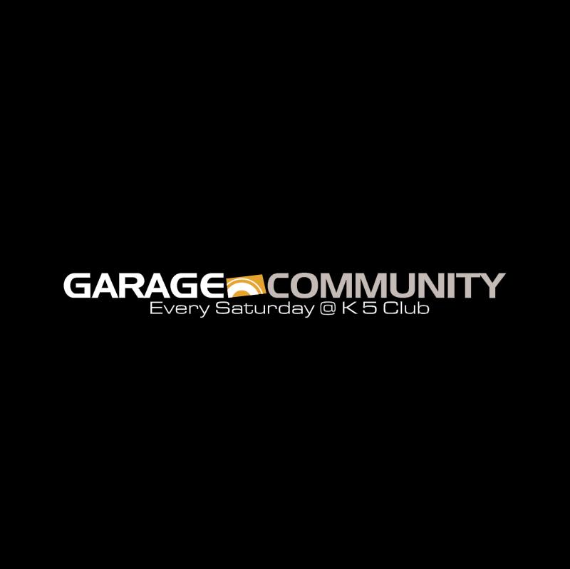 Garage Community vector logo