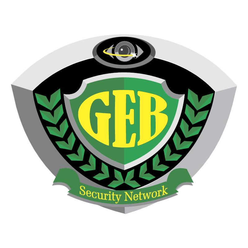 GEB Security Services vector logo