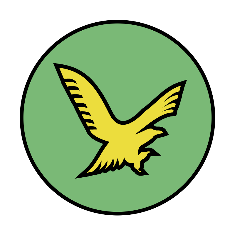 Gold Eagle vector