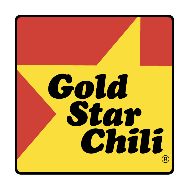 Gold Star Chili vector