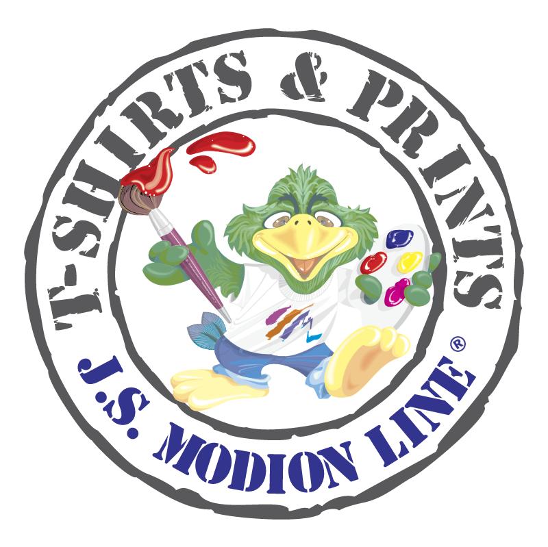 J S Modion Line vector logo
