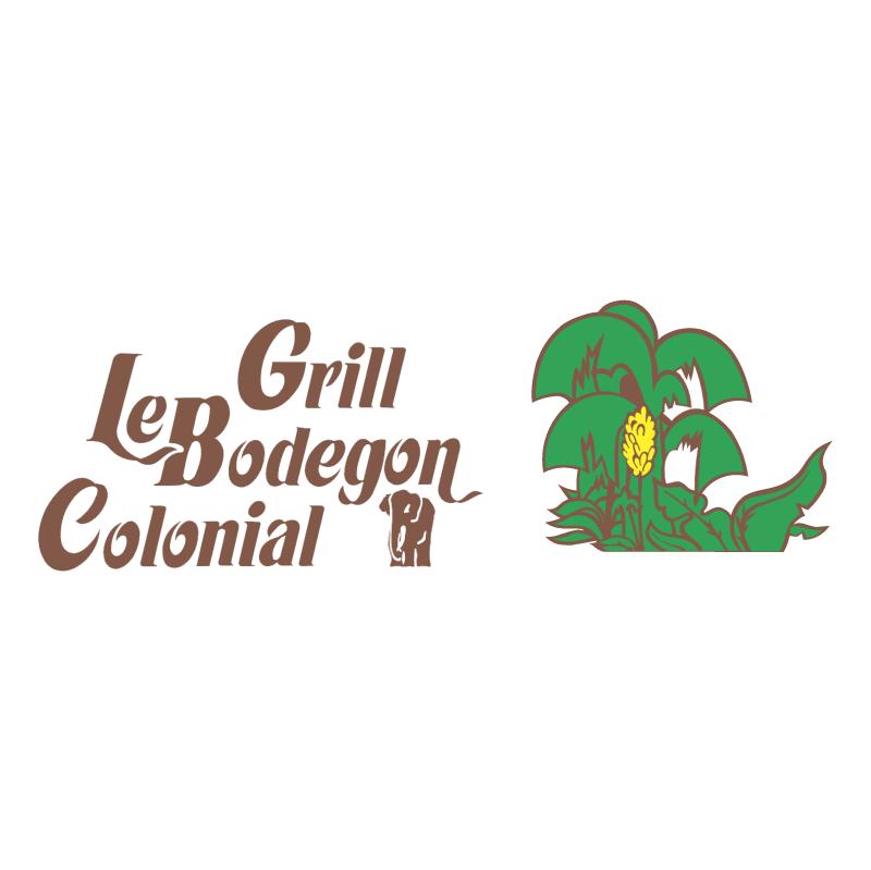 Le Bodegon Colonial Grill vector