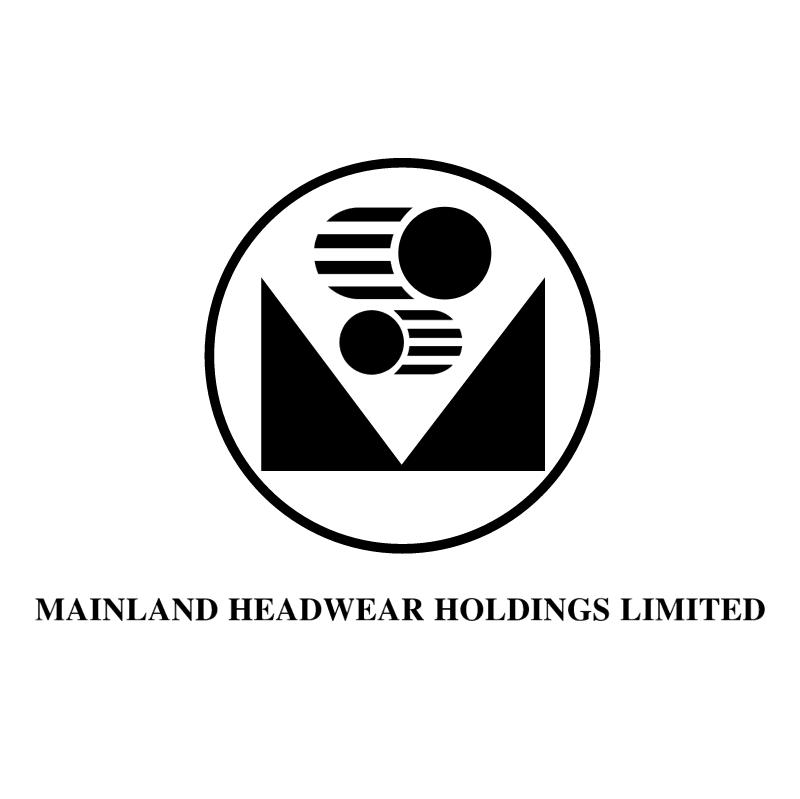 Mainland Headwear vector