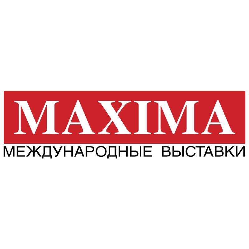Maxima International Exhibitions vector