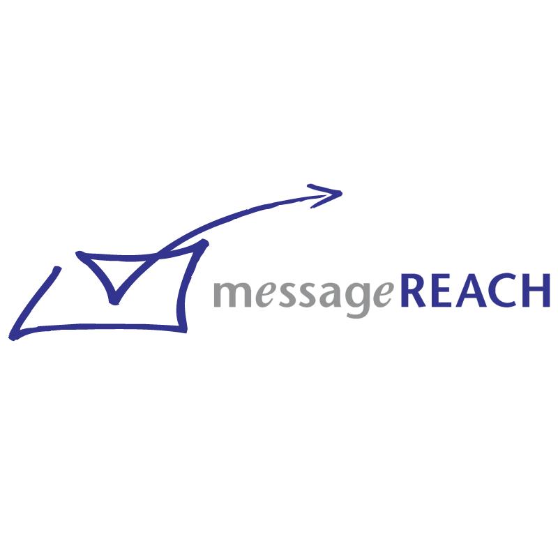 MessageREACH vector logo