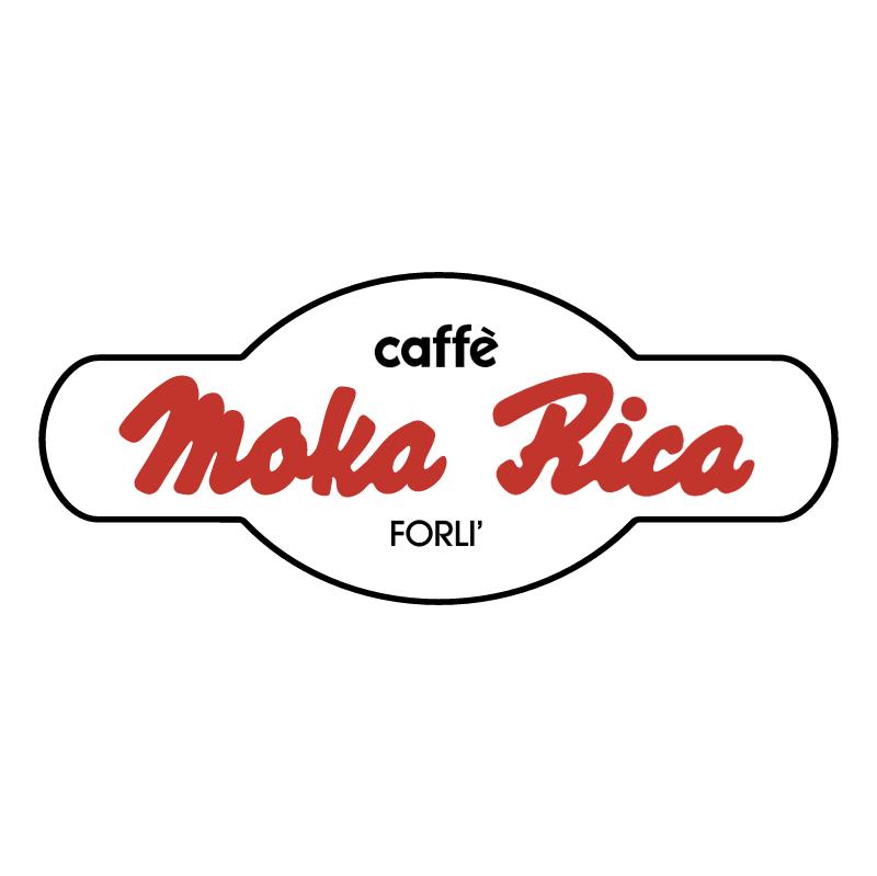 Moka Rica Caffe vector