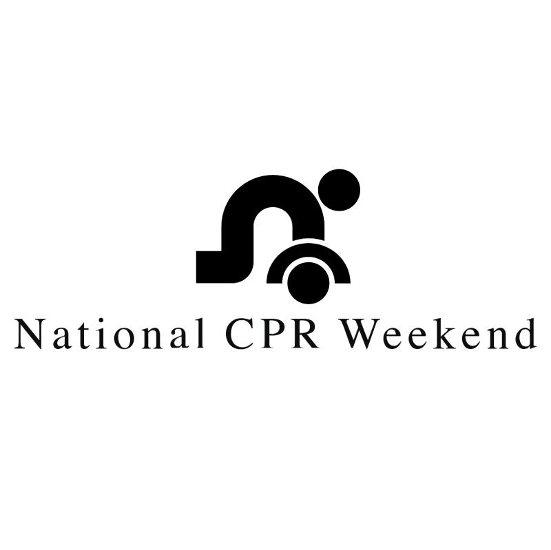 National CPR Weekend vector