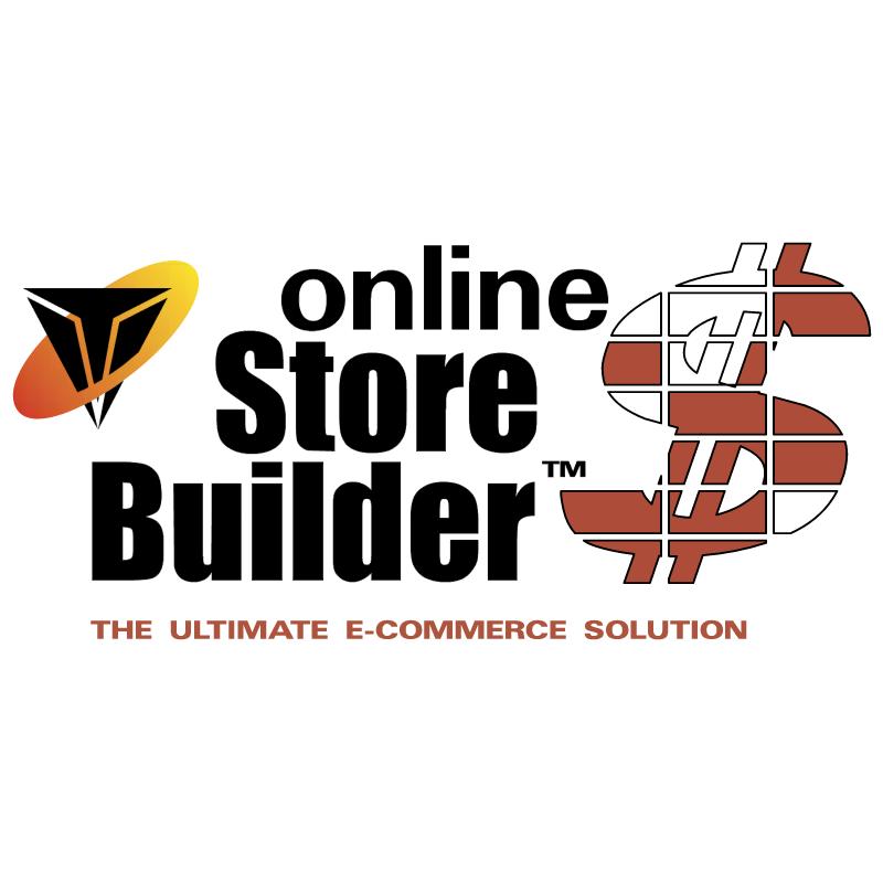 Online Store Builder vector