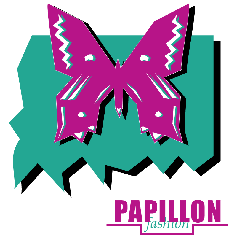 Papillon Fashion vector