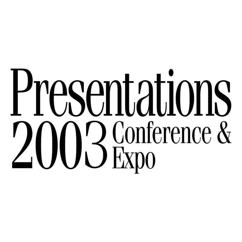 Presentations 2003 vector