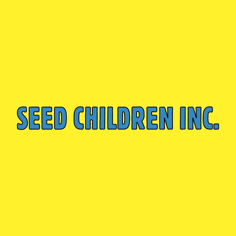 Seed Children vector