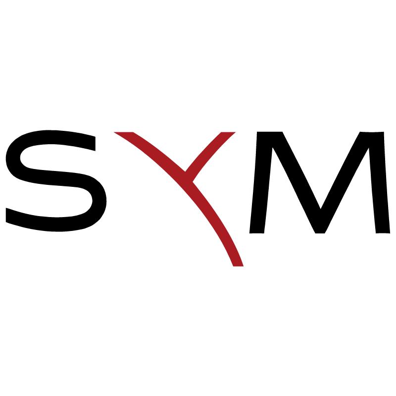 Sym vector logo