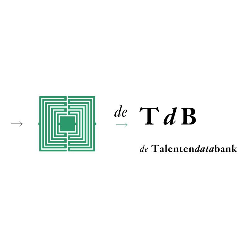 Talentendatabank vector