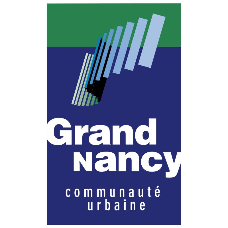 Ville Grand Nancy vector logo