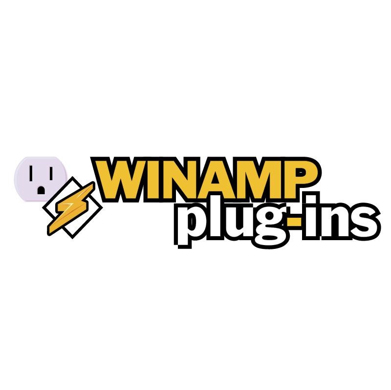 Winamp plug ins vector logo