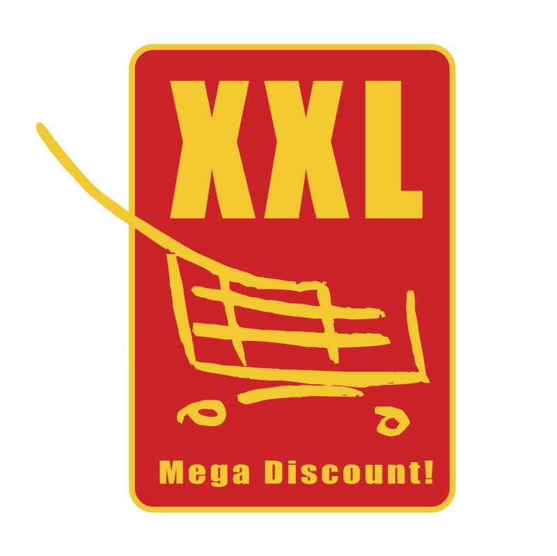 XXL Mega Discount vector