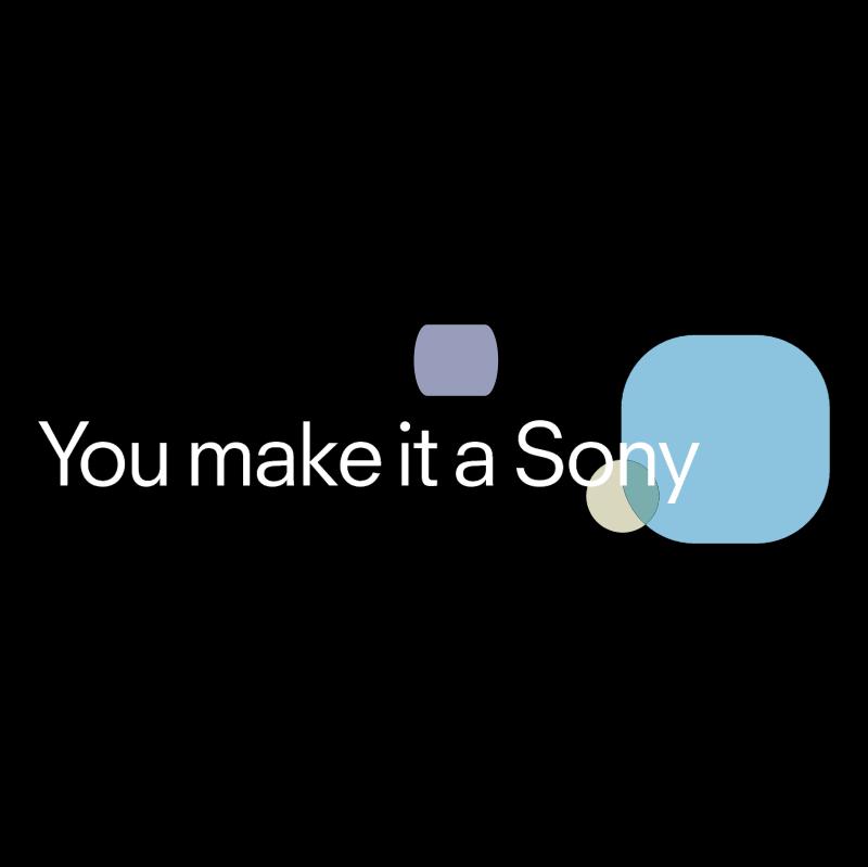 You make it a Sony vector logo