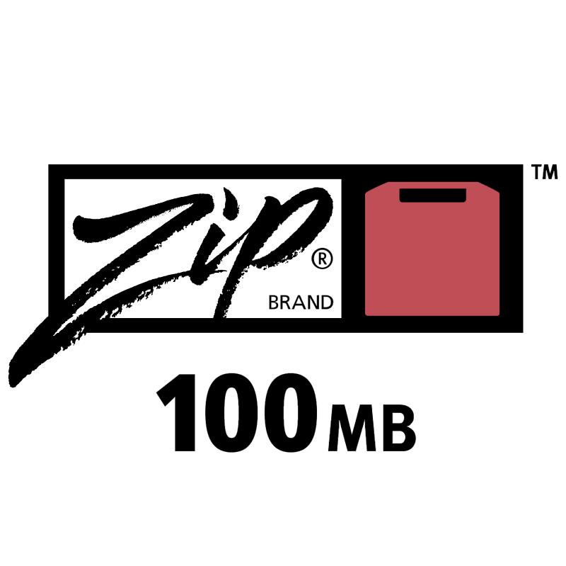 Zip 100 vector