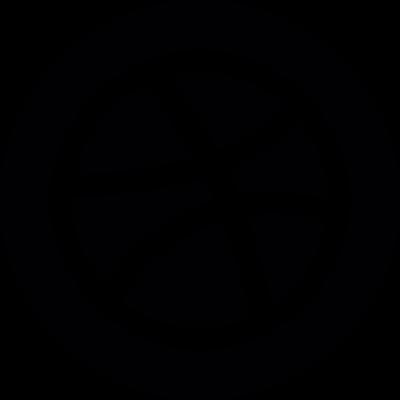 Basket Ball Dribbble Logo vector logo