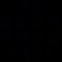 Circle grid vector